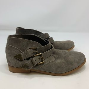 Women's Volcom Taupe Boots Size 7